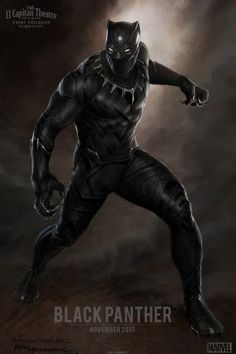 Concept art for Marvel's Black Panther by Ryan Meinerding