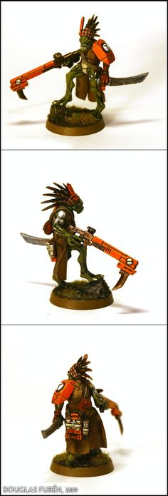 Hunter Cadre, Kroot, Sept, Tau, Tau Empire - Kroot Shaper - Gallery - DakkaDakka | Instinctive behavior makes you lurk here.
