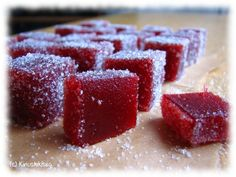 strawberry candy (in Finnish) Candy Recipes, Sweet Recipes, Baking Recipes, Baking Ideas, Sorbet Ice Cream, Homemade Sweets, Seasonal Food, No Bake Cake, Food Pictures