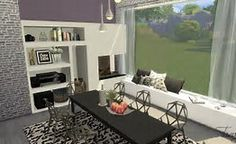 Image result for sims 4 modern room