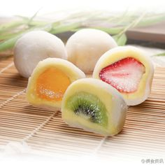【DIY日式水果大福】  [DIY] Daifuku Japanese glutinous rice