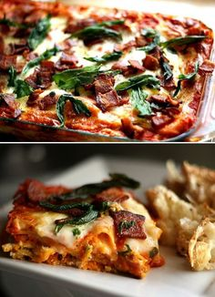 12 Recettes appétissantes de lasagne | La Vie LC Quiche, Pasta, Budget Meals, Budget Recipes, Polenta, Vinaigrette, Bruschetta, Vegetable Pizza, Love Food