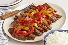 Fire up the grill and let& get cooking. Our BBQ Grilled Pepper Steak for Two is sure to please. Kraft Foods, Kraft Recipes, Cooking For Two, Meals For Two, What's Cooking, Barbecue Grill, Dinner Salads, Dinner Menu, Steak Recipes