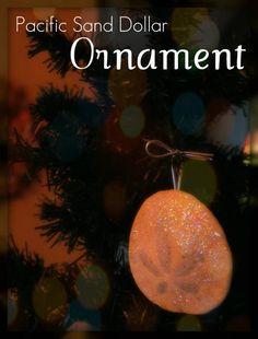 {Coastal Christmas} Glittered Seashell Christmas Tree | Nautical Cottage Blog -Nautical Cottage Blog –