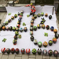 "7,582 Likes, 332 Comments - AGV Helmets (@agvhelmets) on Instagram: ""A real #AGV/#vale46 addicted!! Amazing collection, congrats! #AGVrider"""