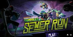 Ninja Turtles Sewer Run game online