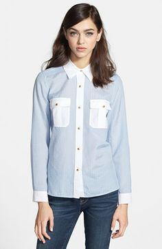 MARC BY MARC JACOBS 'Dalia' Dobby Cotton & Silk Shirt | Nordstrom