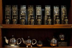 If you are having a bad day, enjoy a tea - for example in the Urban Tea Merchant
