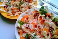 Салат с хурмой - пошаговый кулинарный рецепт с фото на Повар.ру