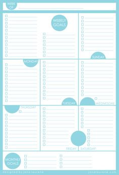 Tool Free Printable Daily Schedule Form  Free Printable