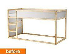 Before & After: IKEA Hack Renders KURA Bed Unrecognizable...and Amazing