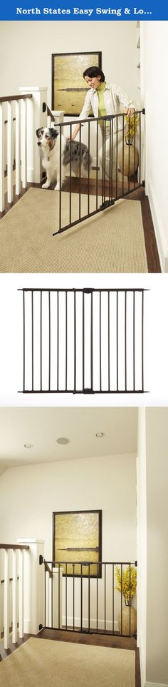 North States Easy Swing & Lock Baby Child Pet Gate - Matte Bronze| 4950 (2-Pack). North States Easy Swing & Lock Gate - Matte Bronze North States' Juvenile Product category offers the most versatile and economical gates and enclosures in the industry. Certified by the Juvenile Products Manufacturers Association for safety, North States gates and enclosures are engineered to provide the highest quality, durability, and ease of use. Great for children and pets, the North States Easy Swing &...