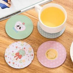 New Arrival Wooden Cup Coasters Coffee Mug Kitchen Table Mats #Kitchen_Decoration #Kitchen_Mats #Kitchen_Pads