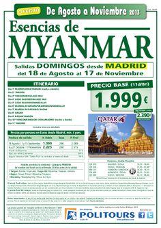 MYANMAR Esencias, sal. 18/08 al 17/11 desde Madrid (11d/8n) p.f. 2.390€ - http://zocotours.com/myanmar-esencias-sal-1808-al-1711-desde-madrid-11d8n-p-f-2-390e/