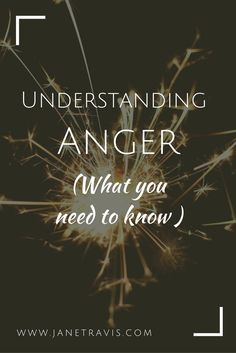 Anger is a misunderstood emotion, often feared and denied, but when you understand why you feel angry, it is a powerful tool for change