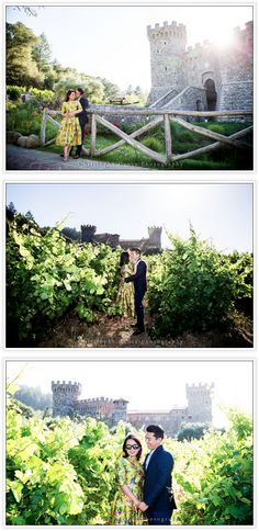 Engagement Photography at Castello di Amarosa in the Napa Valley, California | Christophe Genty Photography
