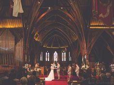 Old St Pauls Thorndon Wellington. A historic church which is popular for weddings. Von Photography