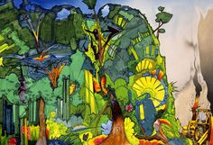 rainforest illustration - Google Search