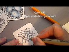 Mysteria Tangle Pattern Lesson #35 - YouTube