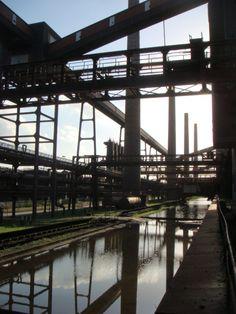 La Rurh, usine