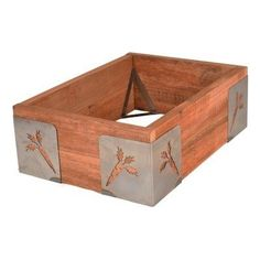 decorative corner braces for raised bed gardens Raised Planter, Raised Garden Beds, Raised Beds, Corner Garden, Landscaping With Rocks, Landscaping Ideas, Garden Boxes, Garden Ideas, Backyard Projects
