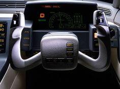 Mazda MX-03.  1985 … #80sdashboards #dashboarddesign #mazdamx03 #80sdesign #futurism #futuristic #synthwave #uxdesign #uidesign #interfacedesign … Via 'flaviendachet'