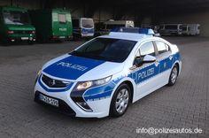 Polizeiautos.de - Opel Ampera