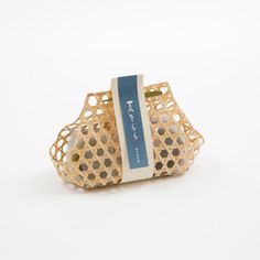 Mochi in bamboo wrap..