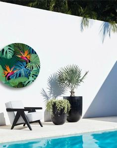 Quality on trend artwork for your outdoor area.  Our products are produced locally in the Bay of Plenty, NZ and have been manufactured to ensure they withstand the harshest outdoor environments.  Made from a compressed foam board with a specialist UV vinyl print & laminate - our pieces will not rot, swell, warp, crack or fade with the elements.    Our prints are also great for rooms where moisture or sun exposure means traditional artwork deteriorates.