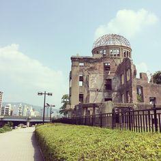 Хиросима Hiroshima 旅行記 広島 原爆ドーム