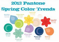 2013 spring pantone color trends