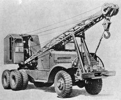WW II Truck Mounted Cranes