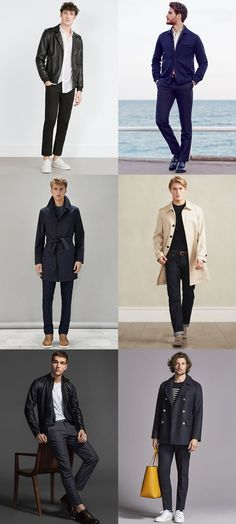 Men's French/Parisian Classic and Timeless Outfit Inspiration Lookbook