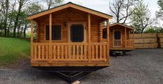 264 Sq. Ft. Park Model Log Cabin just $28,900, People Love the Interior, Must See!