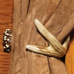 Check out the deal on Faux Deer Antler Curtain Tie Back at Cabin Place