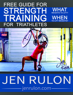 Jen Rulon is a performance based USA Triathlon Level I Coach, with a Masters in Exercise Science, specializing in Strength Training for Triathletes. Triathlon Strength Training, Strenght Training, Sprint Triathlon, Endurance Training, Ironman Triathlon, Tri Workout, Half Ironman, Triathalon, High Intensity Training