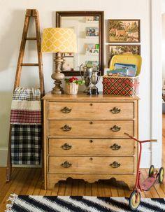 Nursery Dresser #vintagestyle