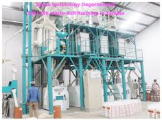 50 tons maize milling machines installed in Zambia
