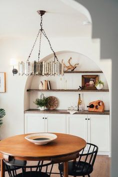 We love talking storage, whether it's for your kitchen, for small spaces, for your laundry room ... you name it! But chances are if you've come here, you're looking specifically for dining room storage ideas. So welcome, and let's get started. #hunkerhome #storage #storageideas #diningroomstorage #diningroom Dining Room Storage, Home Office Storage, Floating Kitchen Island, Spanish Revival, Spanish Bungalow, Spanish Colonial, Spanish Style, Custom Wood Doors, Upper Cabinets