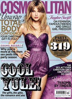 Taylor Swift graces the cover of 23 international editions of Cosmopolitan this December http://dailym.ai/1zqhVDd