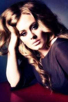 Gorgeous Adele ~ Absolutely no one can sing the way she does, and her songwriting collabs blow me away. #music #Adele