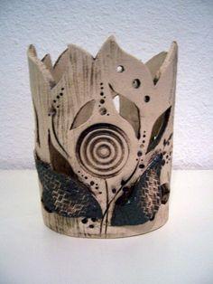 ovales Lichtobjekt 3 von Keramikwerkstatt - Conni`s Keramik und ausgefallene Bilder auf DaWanda.com