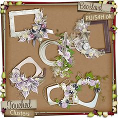 #Touched #Cluster Frames by #Booland Designs now available at the Studio $3.47