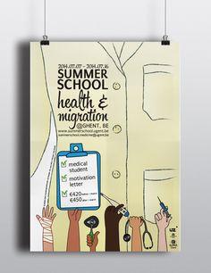 Affiche Summerschool Heelkunde 2014