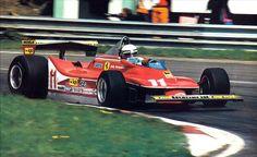 1979 Jody Scheckter Ferrari 312T4 Zolder