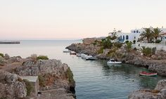 The port at Avlemonas, Kythera island, Greece Greece Mythology, Destinations, Greece Islands, Thessaloniki, Greece Travel, Mykonos, Vacation Spots, Travel Inspiration, Places To Go
