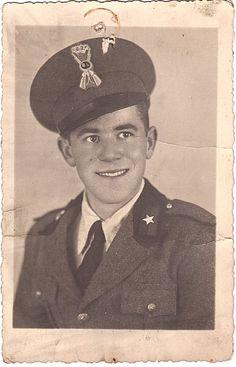 Mio Padre durante il servizio militare