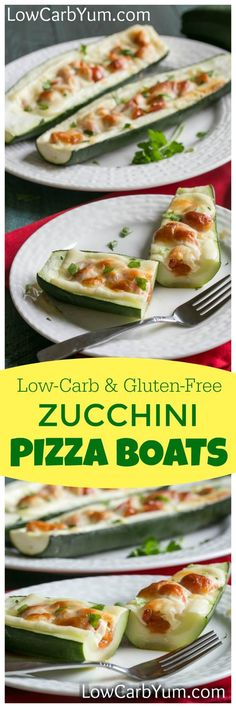 Make a healthier pizza with fresh zucchini and tomatoes. No need to make a…