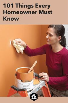 Being a homeowner has its challenges, but being a knowledgeable DIYer can make things a lot easier. Check out this incredible list of things you need to know. House Painting, Diy Painting, Wire Shelving, Paint Furniture, Wet And Dry, Home Hacks, Challenges, Advice, The Incredibles