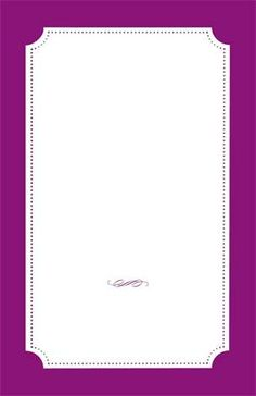"Customizable Horizontal Flat Invitations - 6""x9"""